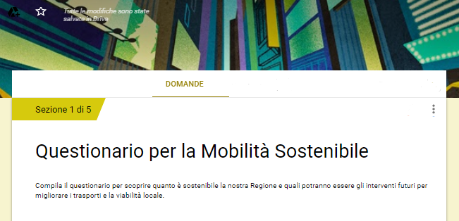 questionario newsletter